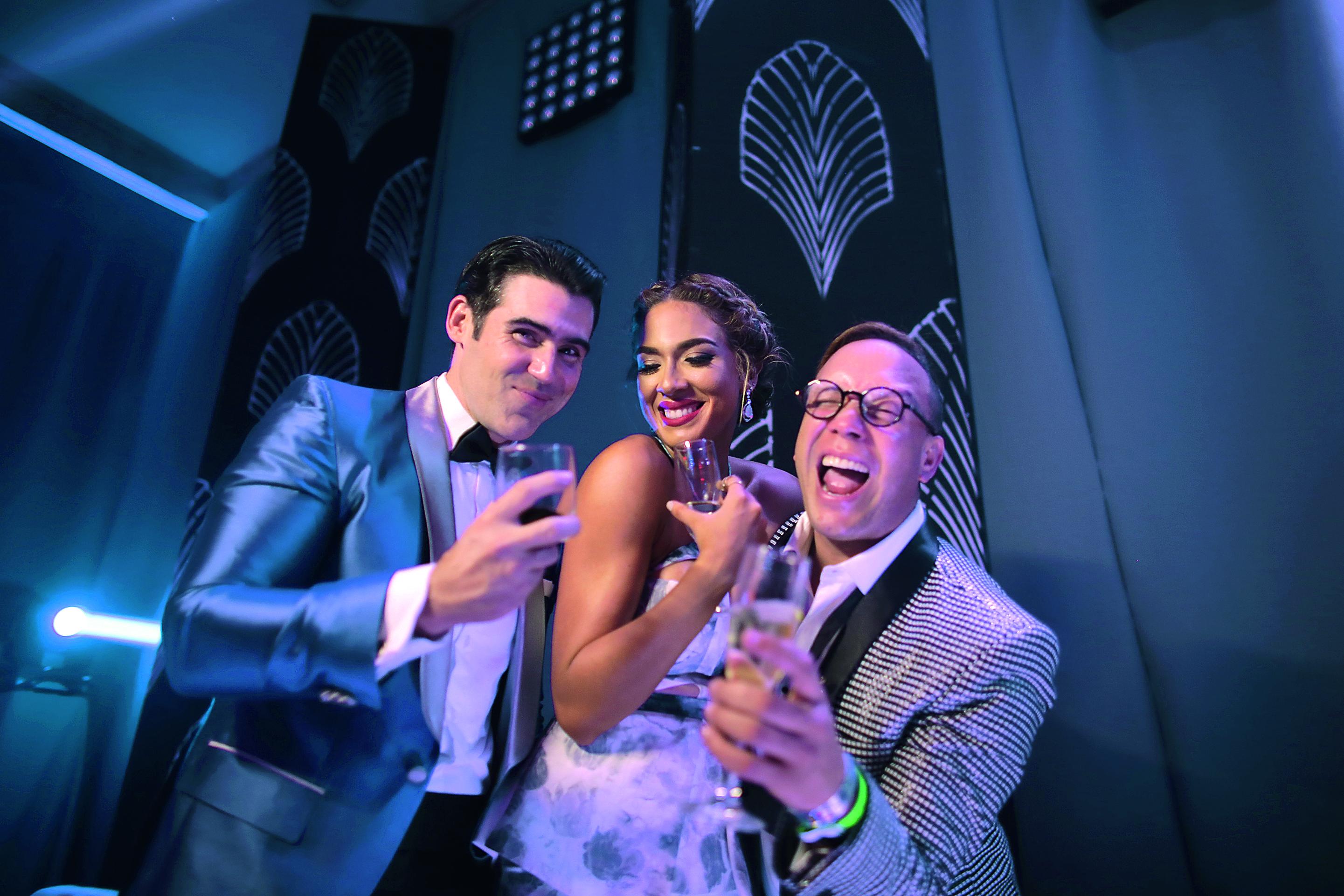 Claro Glam Party: fiesta oficial de los artistas dominicanos