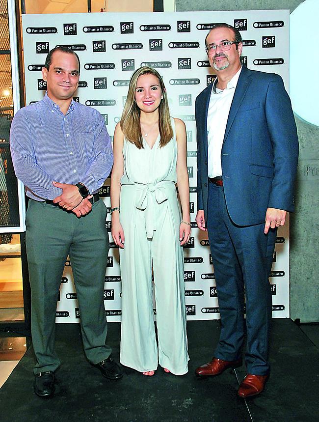 Eduardo Marranzini, Marcela Costa y Martín Conde