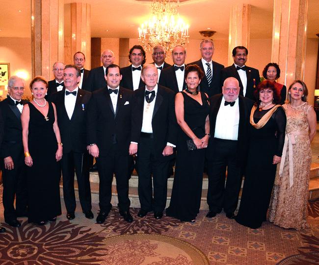 Celebran Gala del Cuerpo Consular
