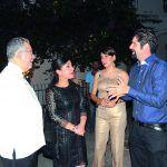 Enrique Valdez, Fabiola Herrera de Valdez, Rosadela Serulle y Silvanh Riedl