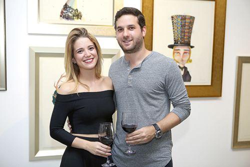 Alicia Freites y Andrés Fernández