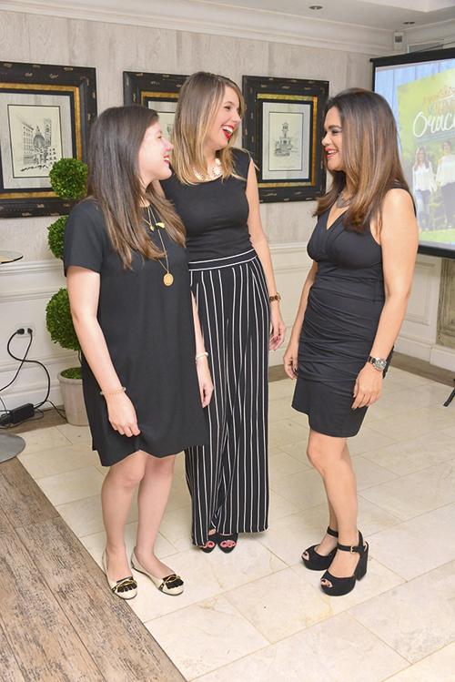 Ileana Ortega, Andrea Ortega y Carolina Díaz