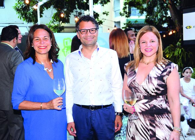 Rosanna Rivera, Alberto Cruz y Montserrat Puig