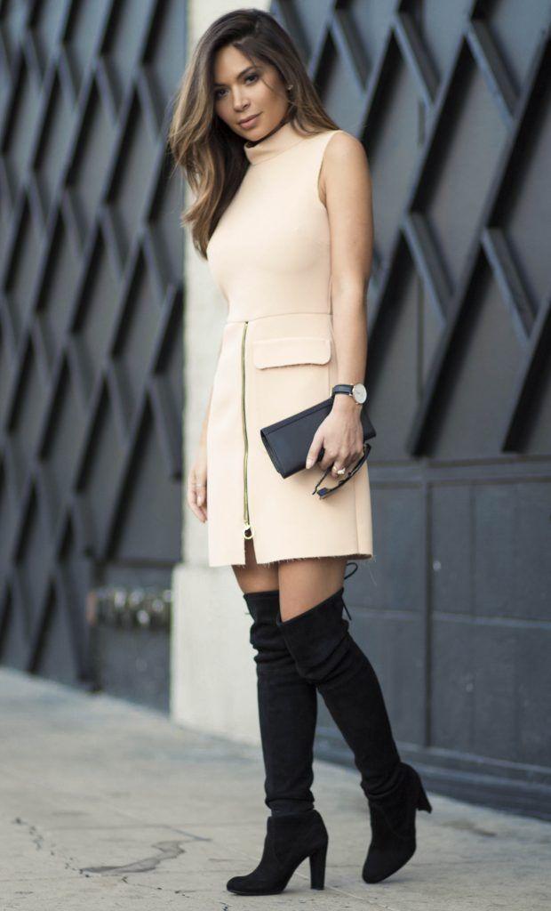 marianna-hewitt-la-la-mer-stuart-weitzman-highland-boots-topshop-dress-blogger-street-style-los-angeles-6