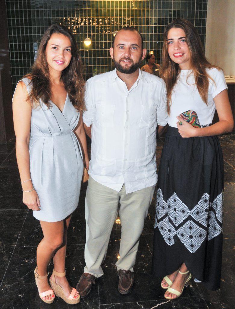 Inés Bassitta, Antonio Sancho y Ana Casanovas