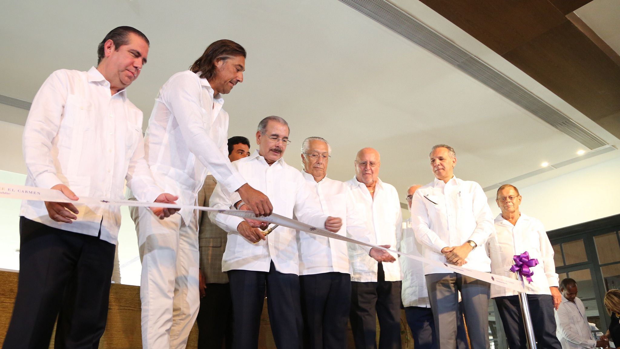El presidente Danilo Medina inaugura hotel en Punta Cana