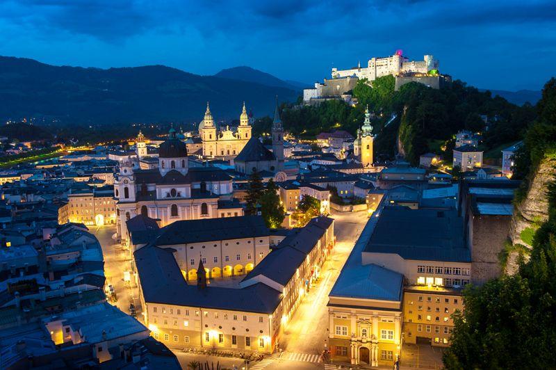 Salzburgo, Austria: El gran teatro del mundo