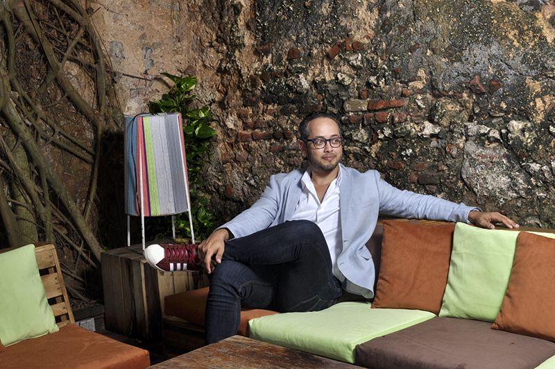 """Carlos De Moya: """"La ciudad colonial me hace feliz, por eso me inspiré en ella»."""