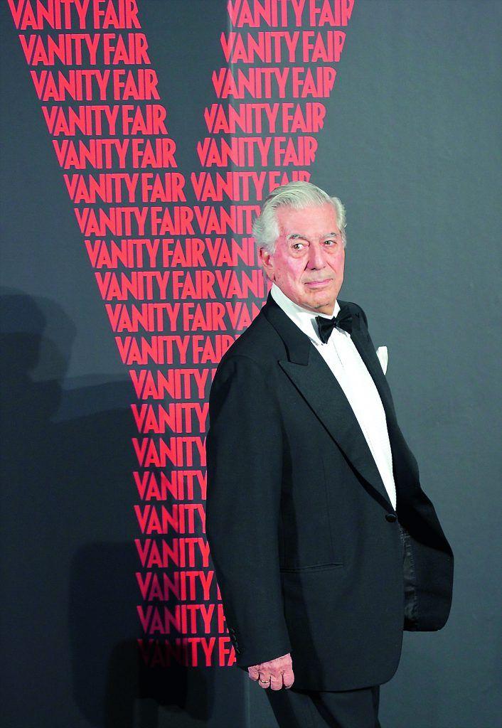 "MADRID, SPAIN - OCTOBER 06:  Nobel Prize in Literature winner Mario Vargas Llosa attends ""Man of the Year 2011"" Vanity Fair Award at ""Museo de America"" on October 6, 2011 in Madrid, Spain.  (Photo by Carlos Alvarez/Getty Images)"