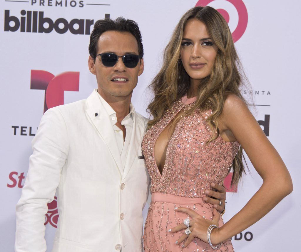 52236143 File photos of Marc Anthony and Shannon De Lima at the 2015 Billboard Latin Music Awards on April 30, 2015 in Miami, Florida. The couple has separated after two years of marriage. The announcement comes on the heels of his appearance on the Latin Grammys, where his ex-wife Jennifer Lopez presented him with the Person of the Year award. They also performed together on stage and shared a kiss. File photos of Marc Anthony and Shannon De Lima at the 2015 Billboard Latin Music Awards on April 30, 2015 in Miami, Florida. The couple has separated after two years of marriage. The announcement comes on the heels of his appearance on the Latin Grammys, where his ex-wife Jennifer Lopez presented him with the Person of the Year award. They also performed together on stage and shared a kiss. FameFlynet, Inc - Beverly Hills, CA, USA - +1 (310) 505-9876 RESTRICTIONS APPLY: NO FRANCE