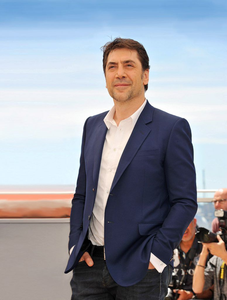 """CANNES, FRANCE - MAY 20: Javier Bardem attend the """"The Last Face """" Photocall at the annual 69th Cannes Film Festival at Palais des Festivals on May 20, 2016 in Cannes, France. (Photo by Camilla Morandi - Corbis/Corbis via Getty Images)"""