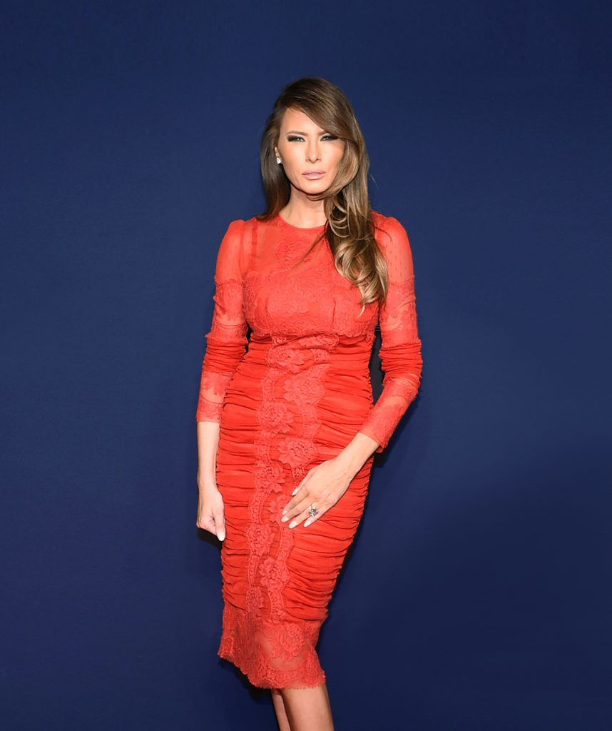 NEW YORK, NY - MARCH 26:  Melania Trump attends the 2015 New York Spring Spectacular Opening Night at Radio City Music Hall on March 26, 2015 in New York City.  (Photo by Andrew H. Walker/WireImage)
