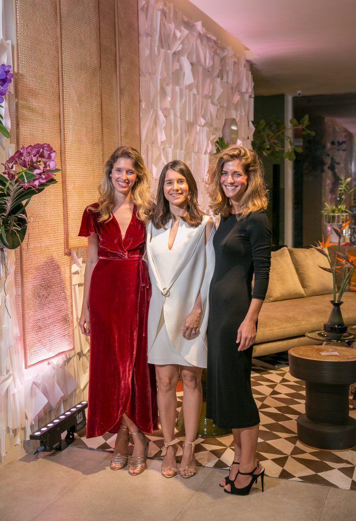 Desiree Casoni, Amanda Ferreira e Ysabela Molini