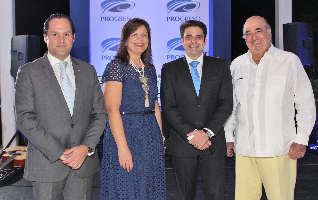 PRINCIPAL - Luis Alfonso Paniagua, Rosario Arvelo, Daniel Santos y José Arteaga.