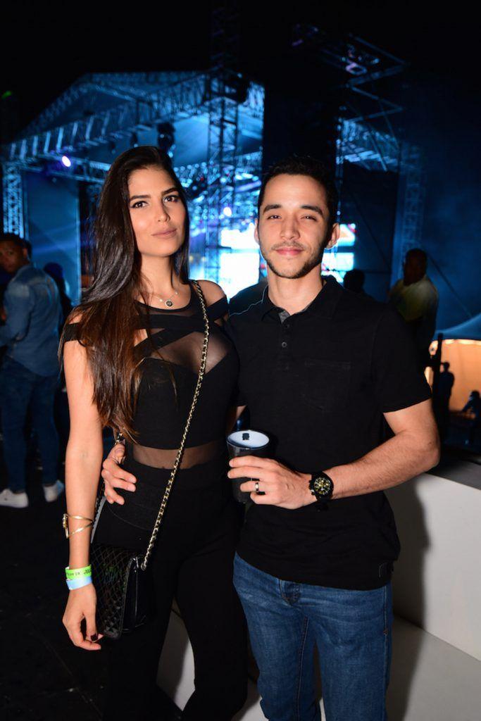 Carlina Durán y Chino Sing