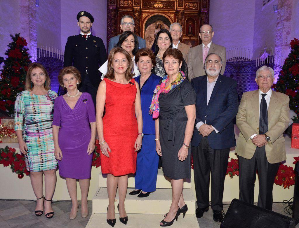 Integrantes La Asociación Dominicana de la Orden de Malta.