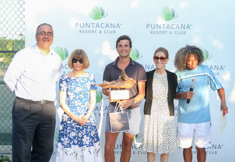 Celebran Torneo de Tennis Oscar de la Renta