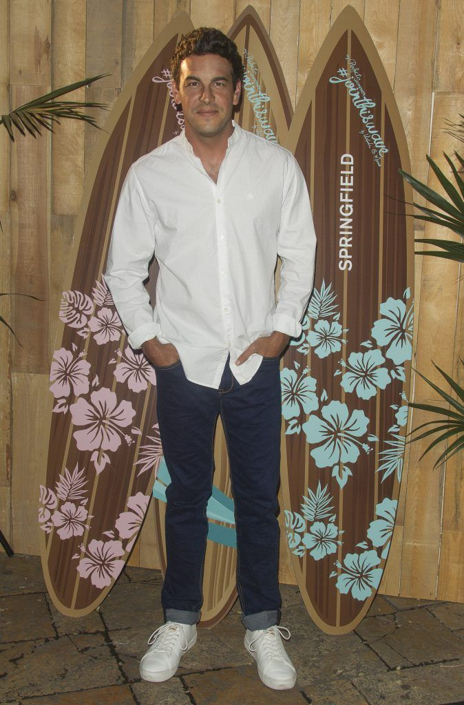MADRID, SPAIN - MAY 05: Actor Mario Casas attends the Springfield fashion film presentation photocall at Fortuny palace on May 05, 2016 in Madrid, Spain. (Photo by Eduardo Parra/Getty Images)
