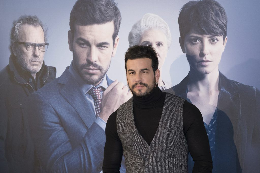 Mario Casas attends 'Contratiempo' photocall at Telefonica Flagship Store on December 19, 2016 in Madrid, Spain. (Photo by Oscar Gonzalez/NurPhoto via Getty Images)