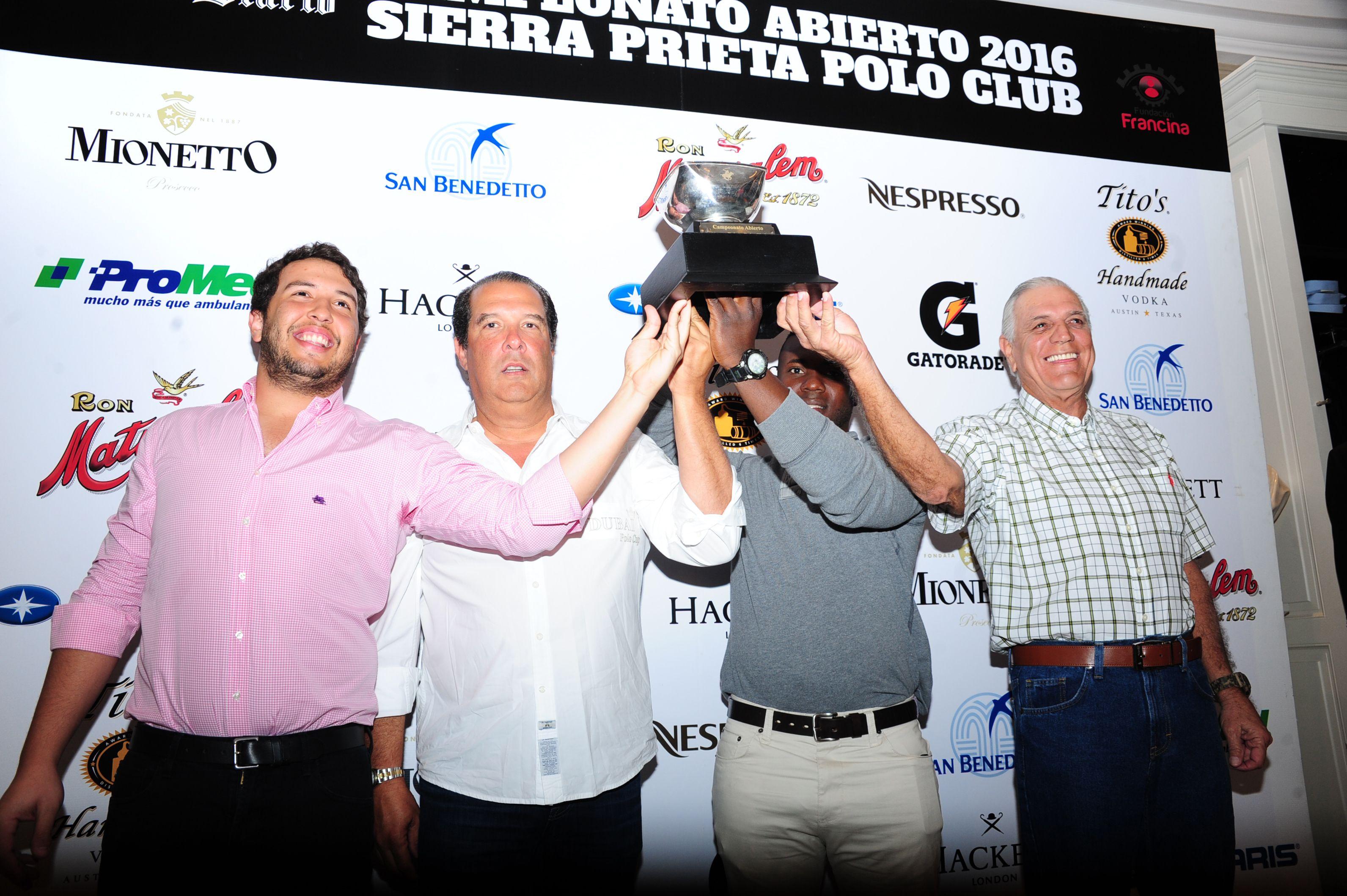 La Premiación: Campeonato Abierto del Sierra Prieta Polo Club