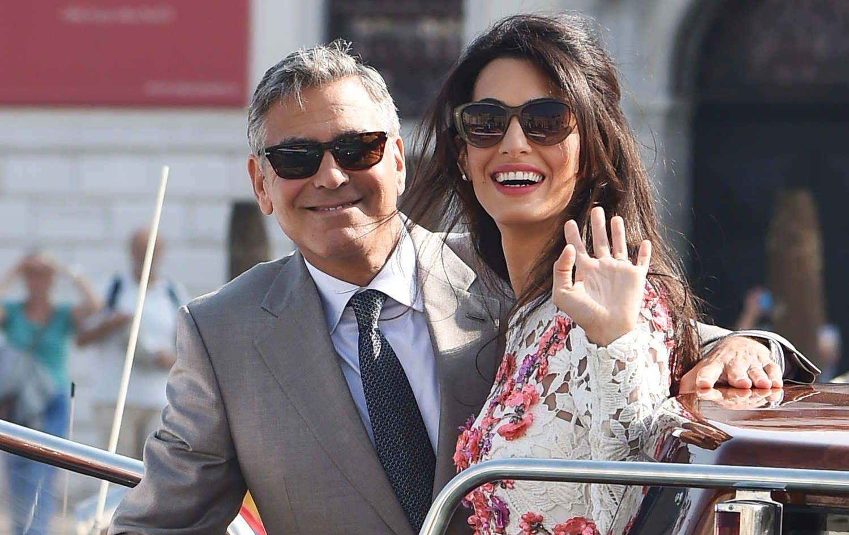 George Clooney y su esposa, Amal, esperan mellizos