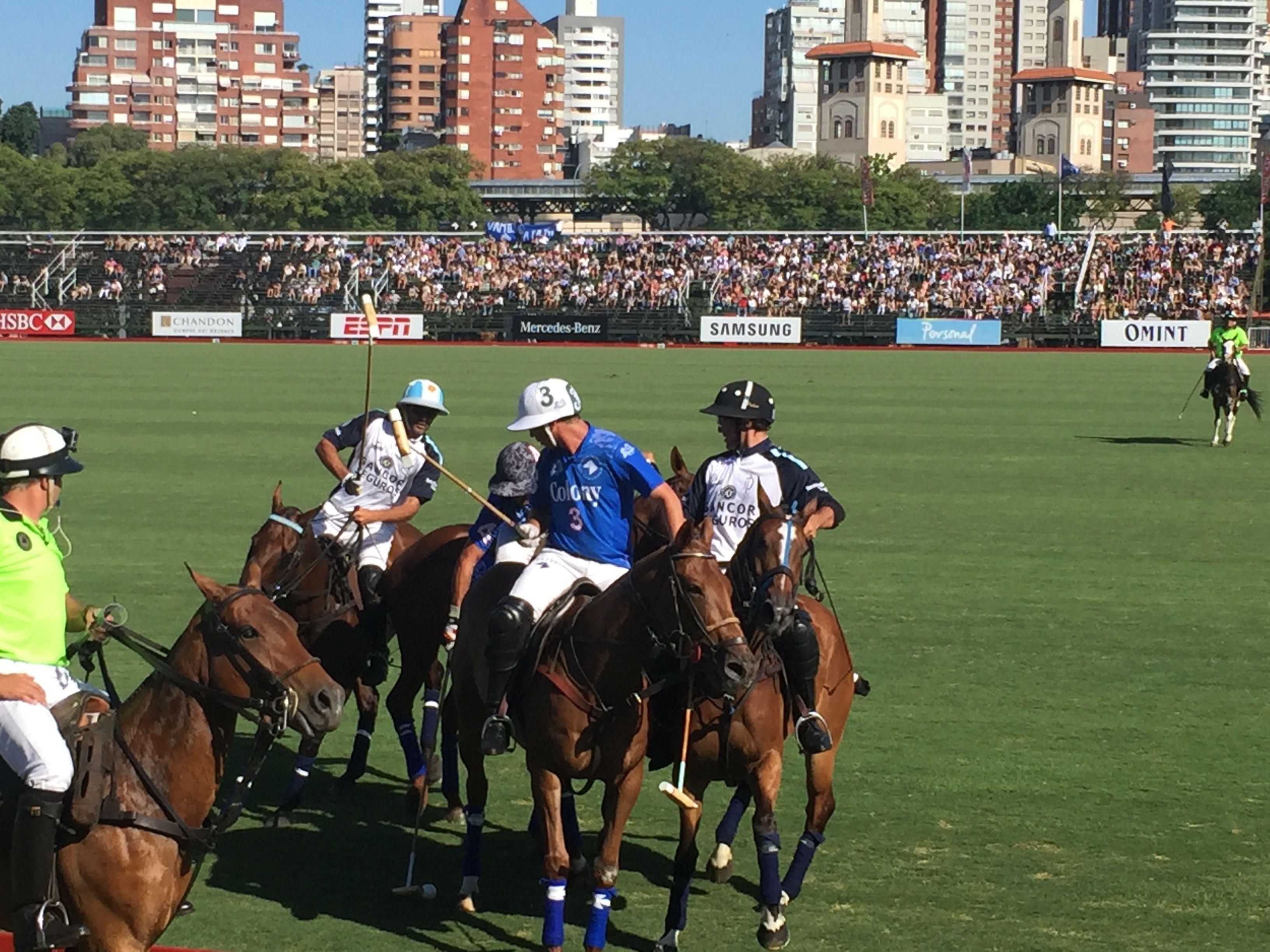 La Carbuccia presente en el 123 Abierto Argentino de Polo