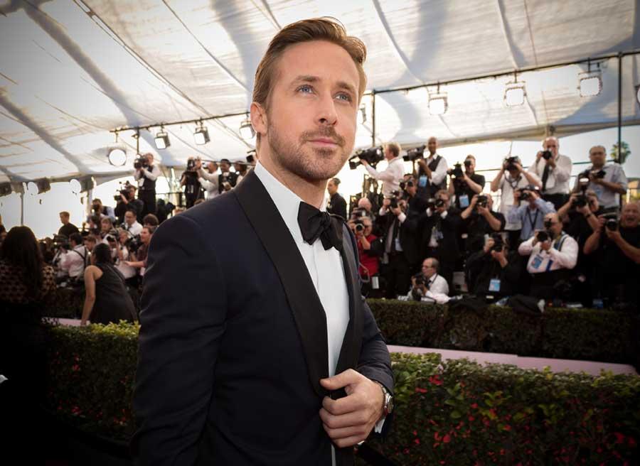 """Ryan Gosling: """"Cuando no trabajo, me deprimo"""""""