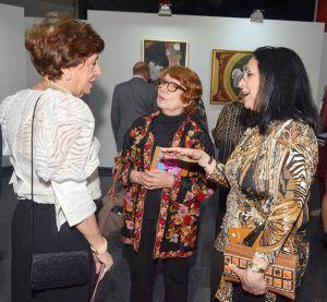 Milagros Guerra, Marianne de Tolentino y Daisy de Vidal.