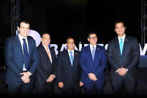 Manuel Singer, Rienzi Pared Pérez, Marcial Mejía, Willian Read y Serguey Forcade.