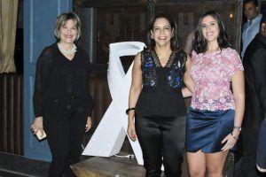 Griselda Carros, Alexandra Matos de Purcell y Aimee Díaz