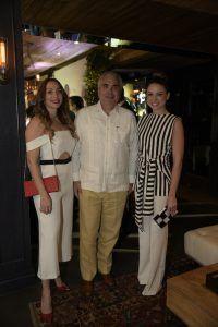 Miralba Ruiz, Roberto Cavada y Lorenna Pierre