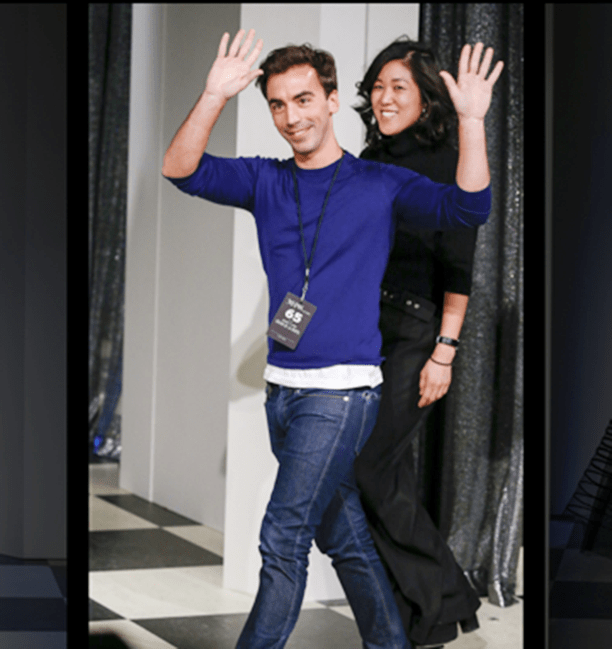 Oscar de la Renta y Monse Maison juntos en una gran noche en New York