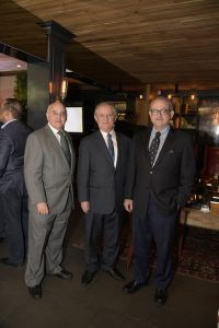 Juan Mansfield, Julio Guerra y Jaime Bonetti