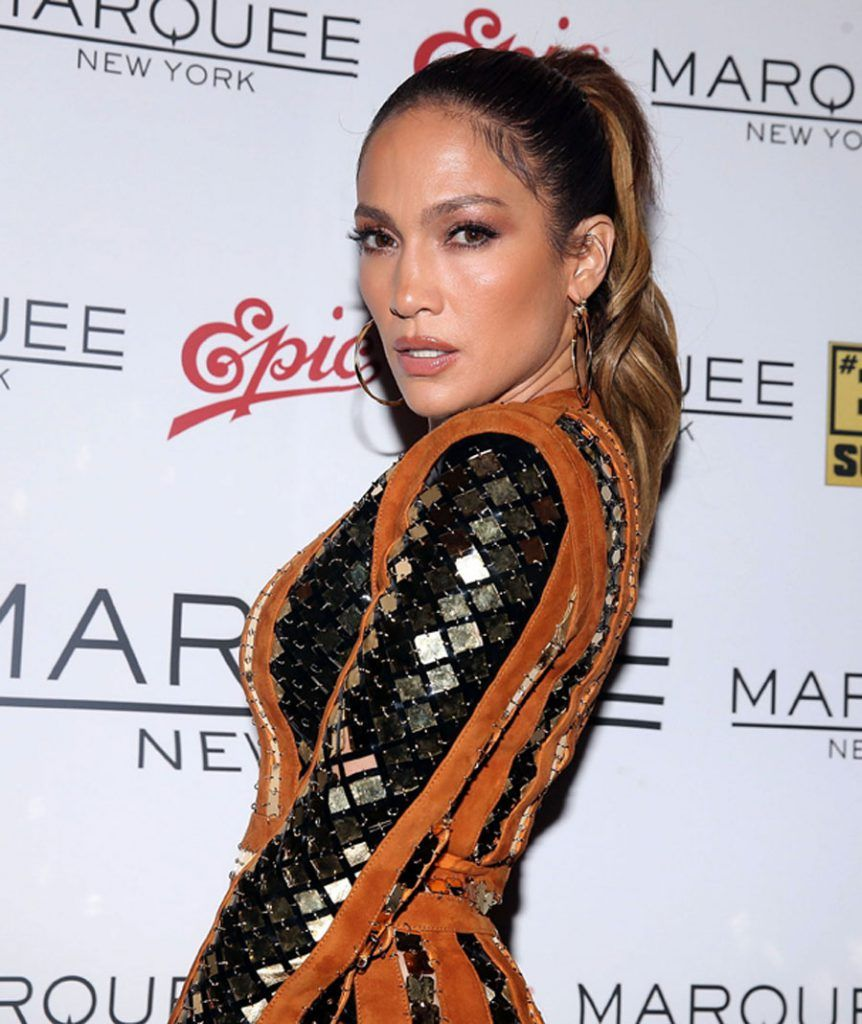 NEW YORK, NY - AUGUST 28:  Jennifer Lopez attends Epic Summer Hosted By DJ Khaledat Marquee on August 28, 2016 in New York City.  (Photo by Shareif Ziyadat/Getty Images)