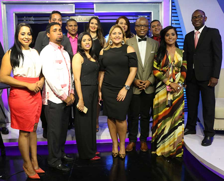 Grupo Lama inaugura moderno estudio de TV
