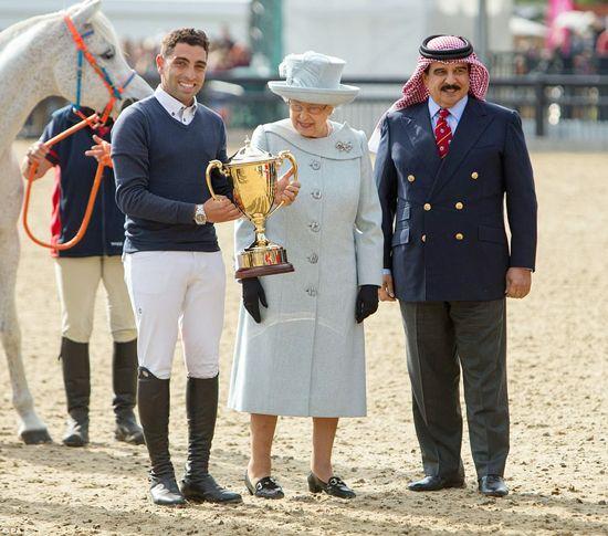 Al mejor estilo de la realeza británica