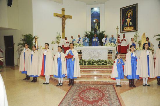 Iglesia Buen Pastor festeja 100 años de apariciones de Fátima