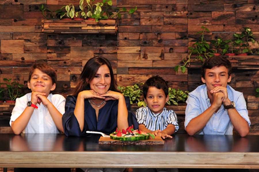 El Chef Es: Maris Samayoa y sus hijos Sebastián, José Pablo y Gabriel