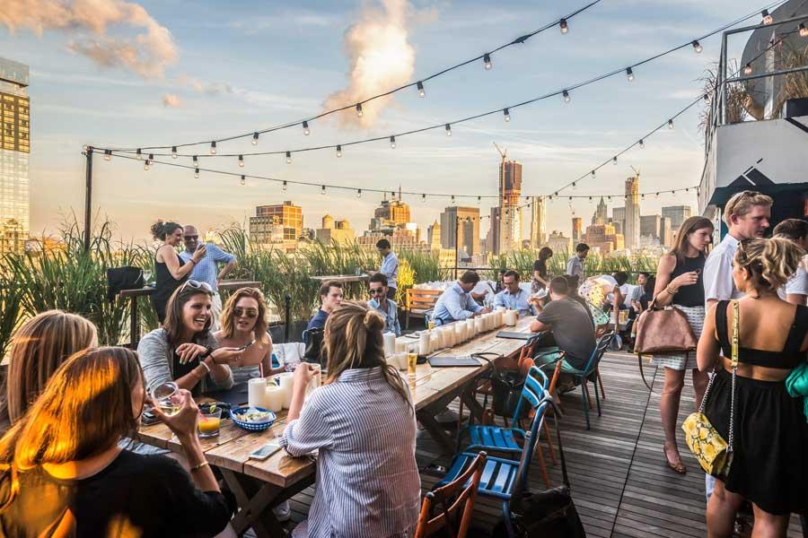 Rooftop Azul: New York desde las alturas