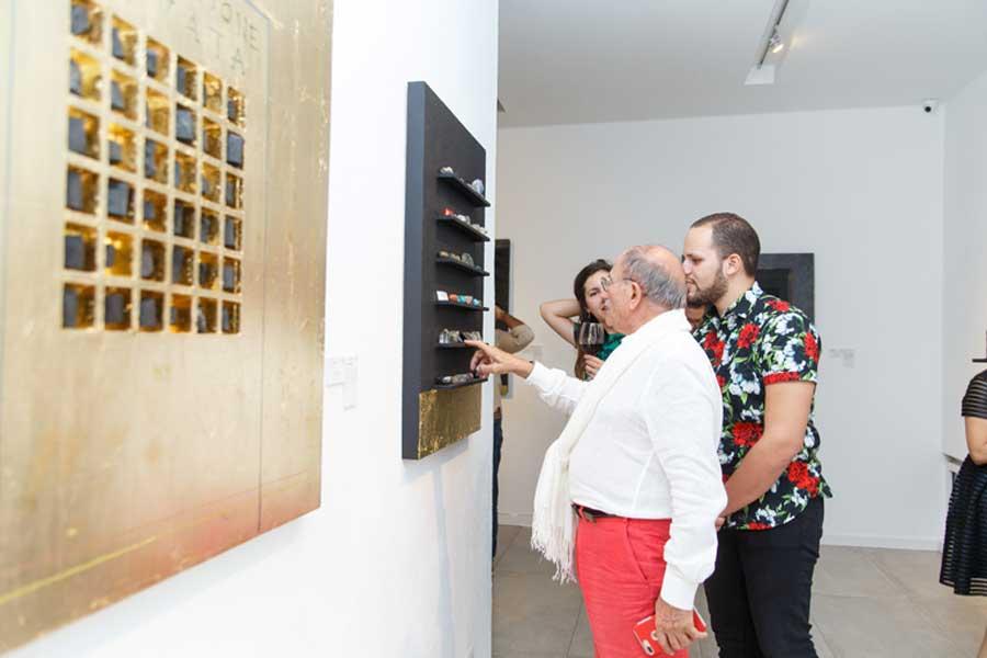 Gianfranco Fini presenta exposición