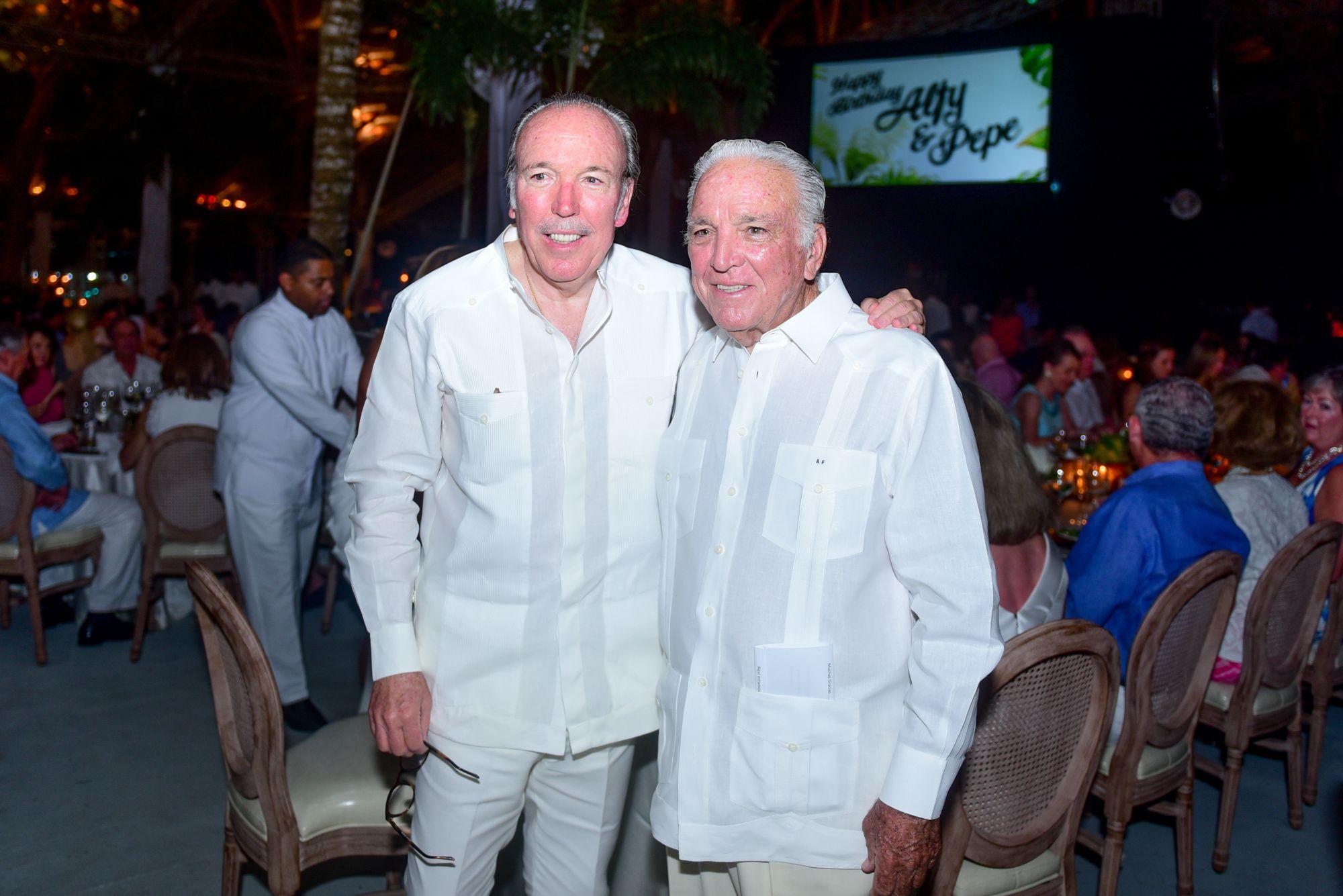 Cumpleaños José y Alfonso Fanjul
