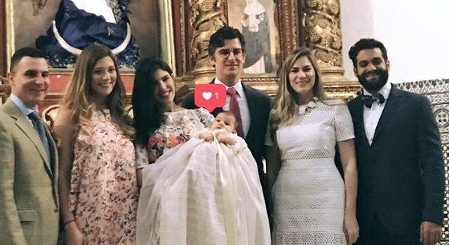 Sneak peek del bautizo de Sol Briceño Jiménez