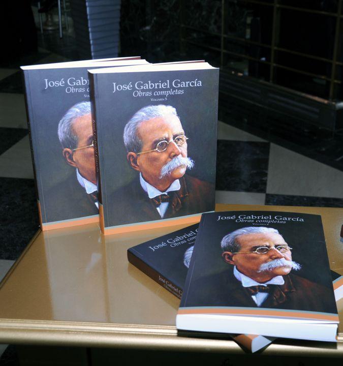 Banreservas publica tomos V y VI de José Gabriel García