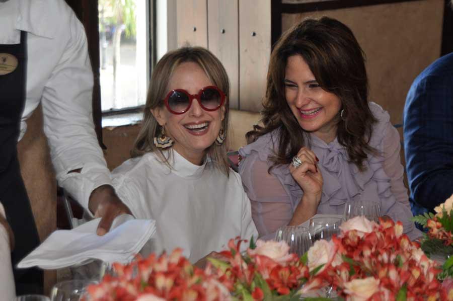 Listín Diario ofrece almuerzo a Silvia Tcherassi