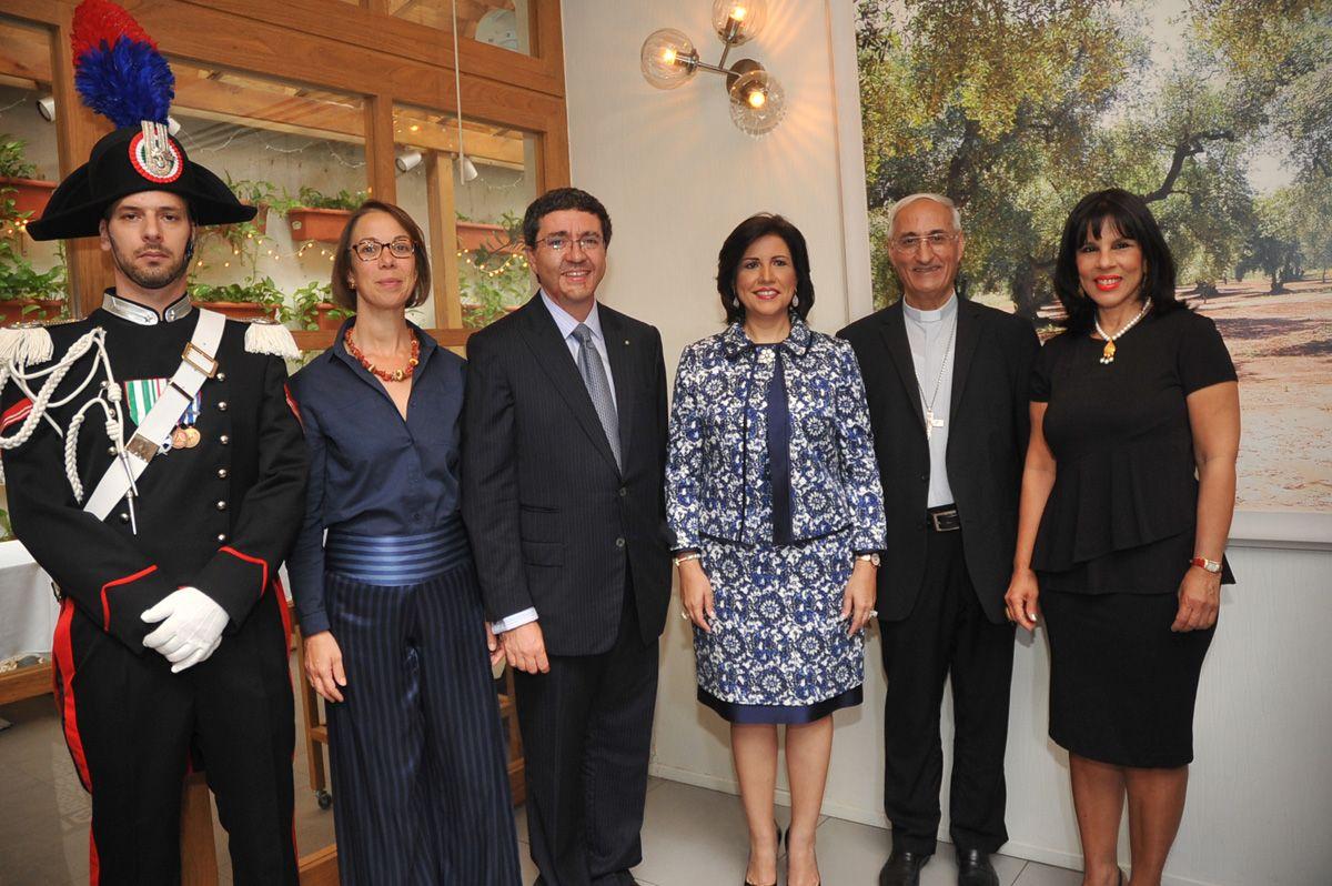 Presentan al nuevo embajador de Italia