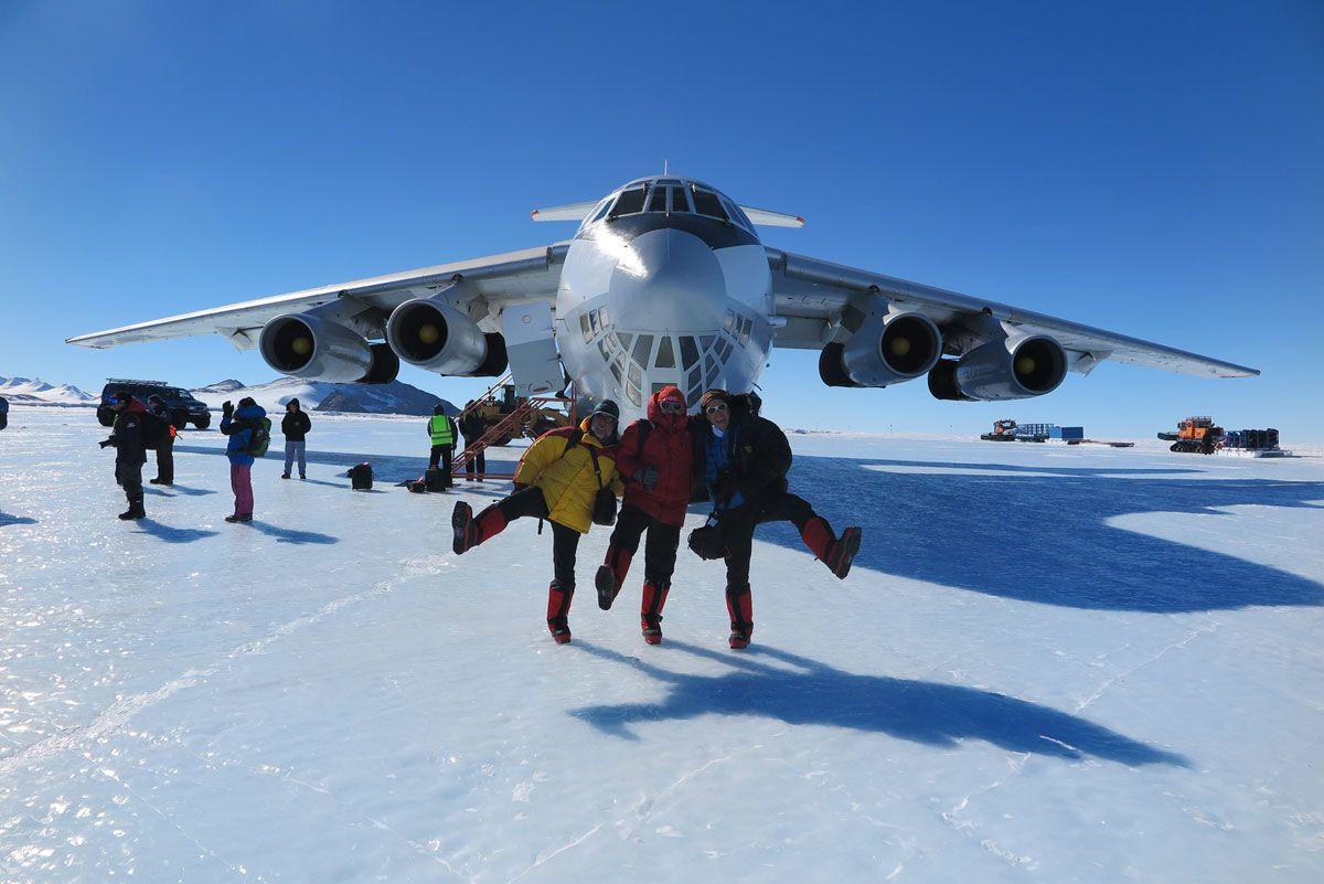 Expedición al Polo Sur: Donde elfinal de la Tierra se une con el inicio del cielo