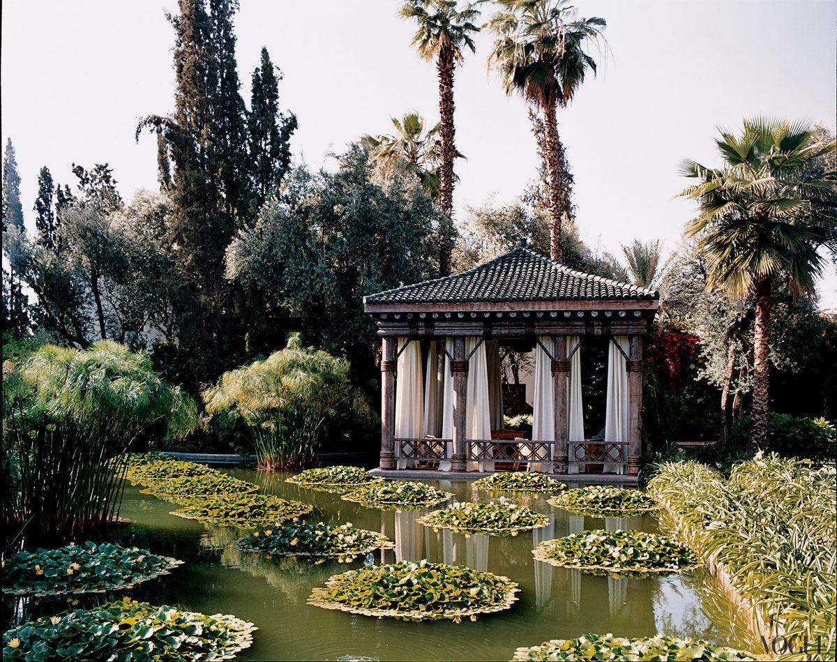 Marella Agnelli's Marrakeck: Lo sublime de un gusto estético e impecable