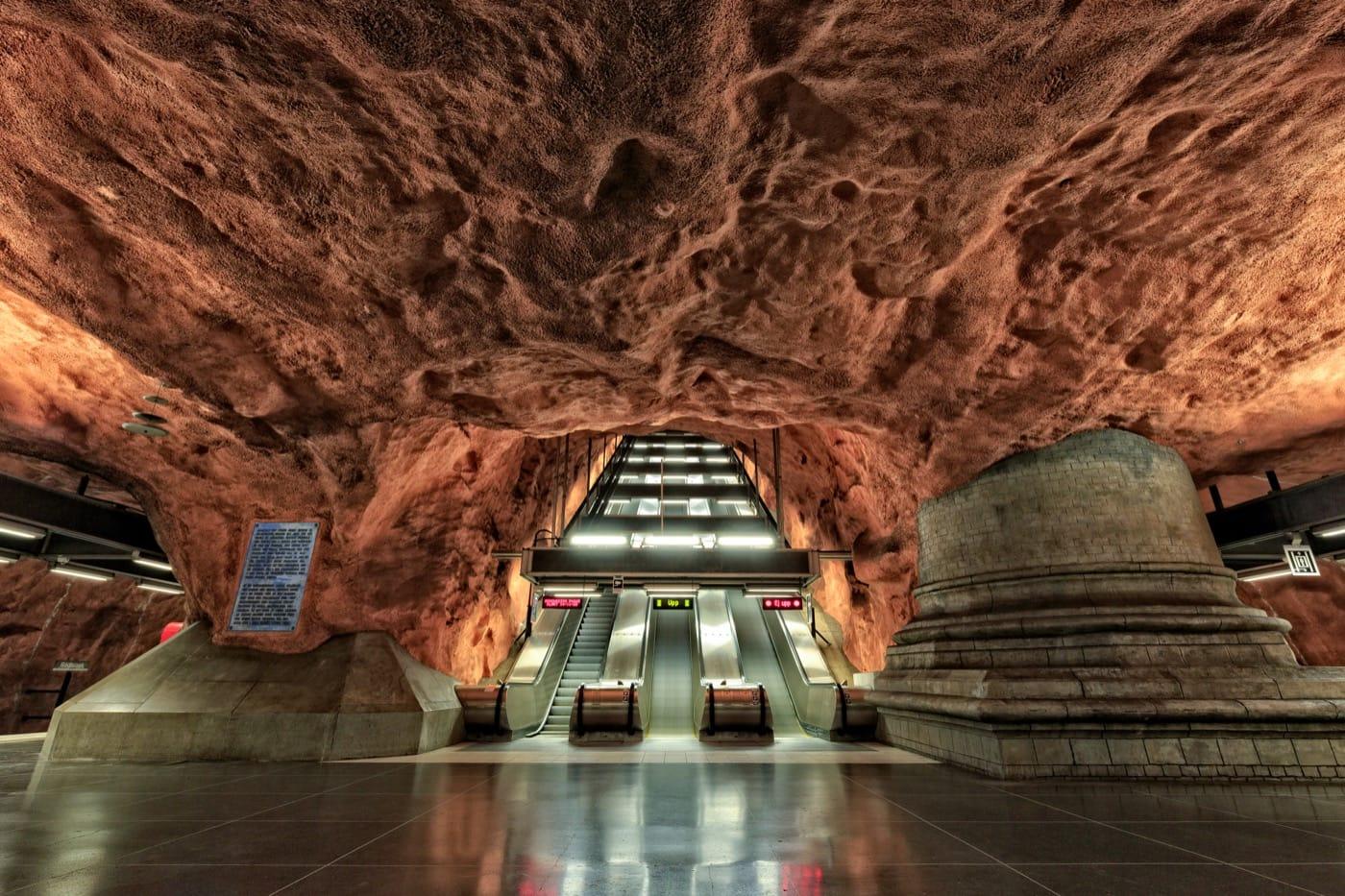 Un universo, estación por estación: Sistema de trenes en Estocolmo