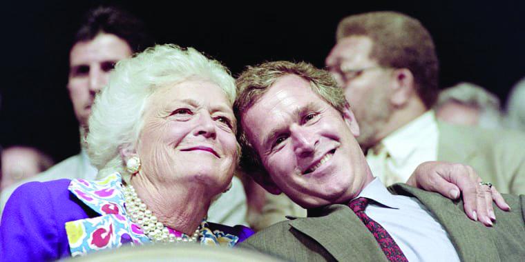 Barbara Bush: La primera dama que ganó el cariño de una nación