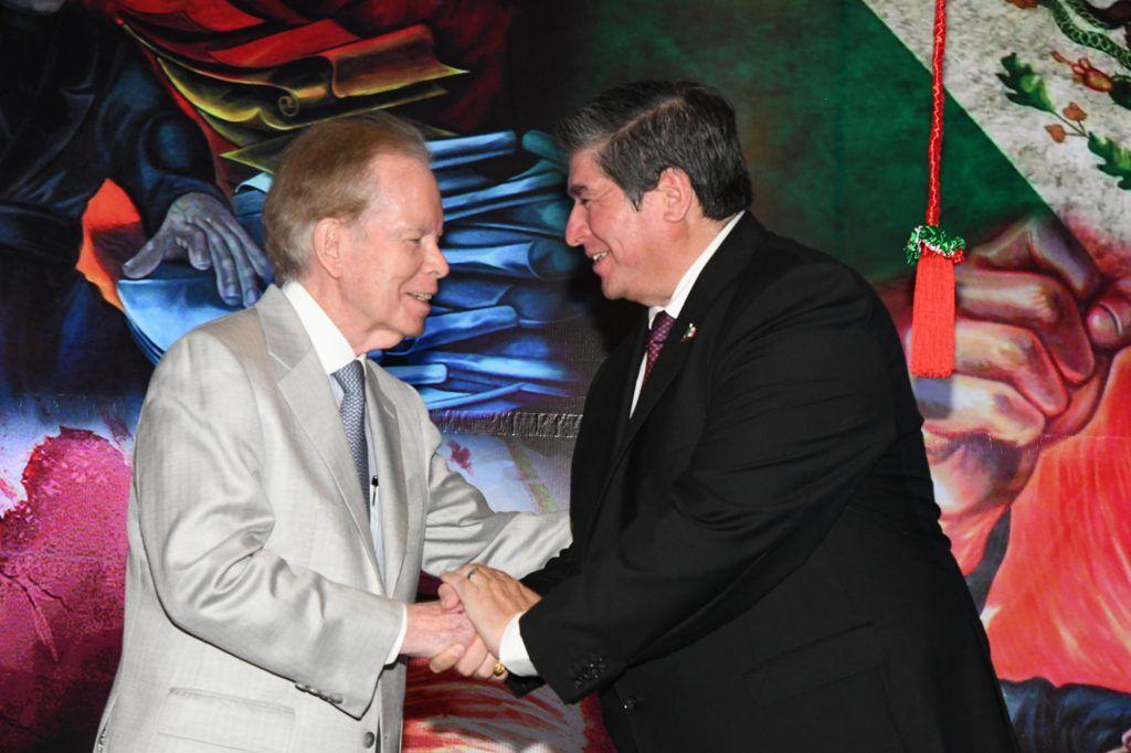 José Luis 'Pepín' Corripio y Carlos Peñafiel Soto
